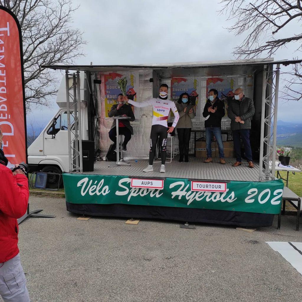 Un beau podium de BOILEAU sur l'étape 3 Tourtour