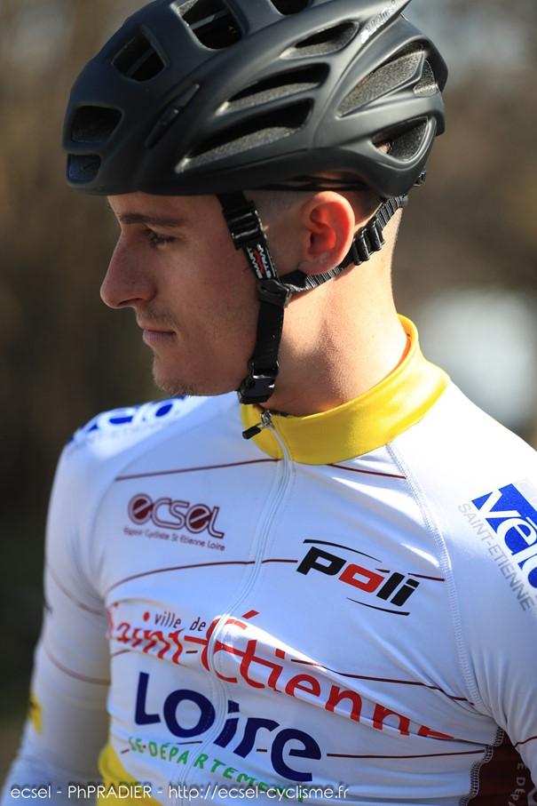 Paul-Victor ESTEVES en pleine préparation avant le début du Circuit de la Vallée du Bédat